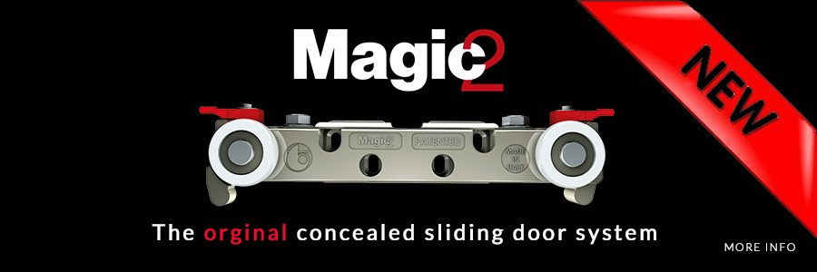 Concealed Sliding Door Hardware Magic System